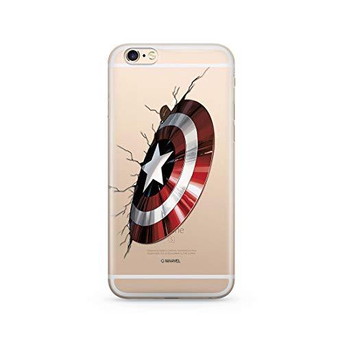 Ert Group MPCCAPAM8819 Marvel Cubierta del Teléfono Móvil, Captain America 023, iPhone 6/6S