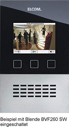 Elcom Video-Freisprech-Basismod. BVF-260/BE i2-Bus,UP,f.BVF-260 Innenstation für Türkommunikation 4250111813617