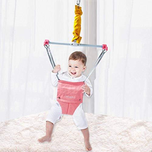 DAKEUR Suéter Interior para bebé, ejercitador de Ejercicios para bebés, Hamaca, Columpio, Asiento para Saltar, Saltador para bebé, Entrenador para Aprender a Caminar, ejercitador para bebés con abr