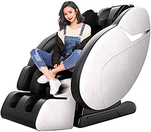 Poltrona massaggiante Shiatsu, Massage Chair elettrico Full-corpo Multi-Function Capsula spaziale Massaggi divano riscaldamento impastamento vibrazioni professionale Poltrona relax con 3D Surround Sou