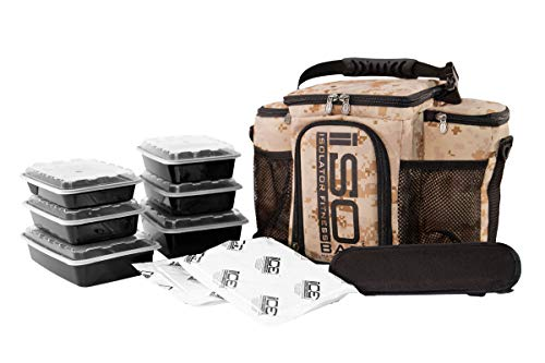 Isobag 3 Meal Military Edition - Full Camouflage (Marine Digital Desert)