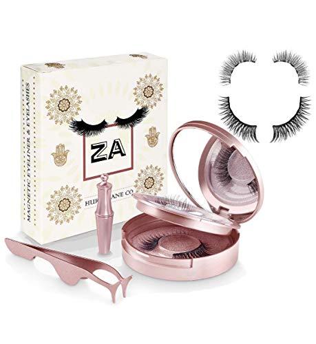 ZA Hurricane® lashes 2 in 1 Kit, zwei verschiedene künstliche magnetische Wimpern, magnetischer...