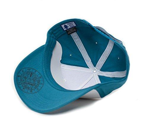 Dipper Aqua Blue Pine Hat Embroidered Adult Curved Baseball Cap