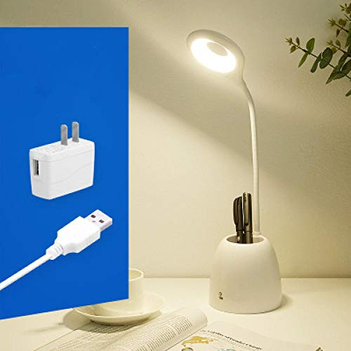 Creatieve LED student leeslamp slaapzaal lader bureaulamp USB fan tafellamp kind oogbescherming tafellamp pen pen houder lamp 3c adapter andere