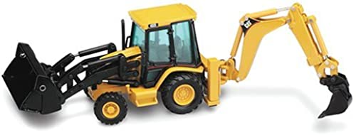 Caterpillar 432D Side-Shift Backhoe Loader with Work Tools Features front - 1 50 Scale by Norscot