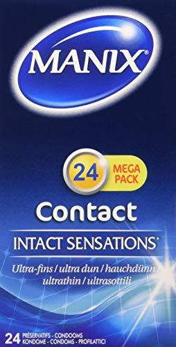 Manix Contact Kondome, 1er Pack (1 x 24 Stück)