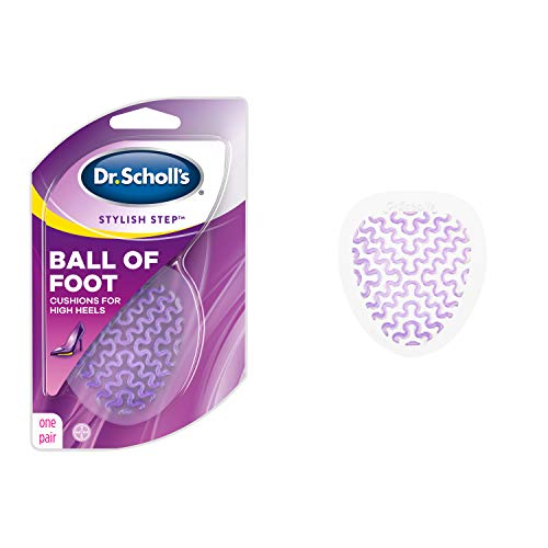 Dr. Scholl's BALL OF FOOT Cushions for High Heels (One Size) // Relieve and Prevent Ball of Foot Pain with Discreet Cushions that Absorb Shock and Make High Heels more Comfortable