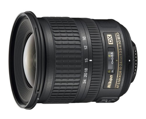 Nikon AF-S DX NIKKOR 10-24mm f/3.5-4.5G ED Zoom Lens with Auto Focus