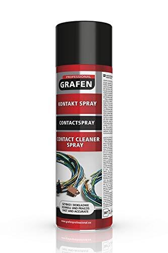Grafen Professional Kontaktspray Elektro Elektronik Kontaktreiniger Spray wasserabweisend 500ml