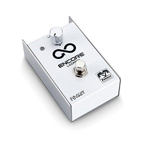 Palmer ENCORE Looper Pedal - Palmer Pocket Serie - für Gitarre/Keyboard etc. (bis 10min Loopdauer, unkomprimierte 24-Bit Soundqualität)
