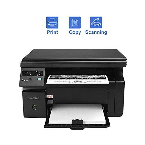 TANCEQI Impresora Multifunción Láser con Impresión Dúplex, USB 2.0, WiFi Direct, Procesador de 400 MHz, Memoria de 8 MB, Pantalla Digital LCD de Dos Líneas