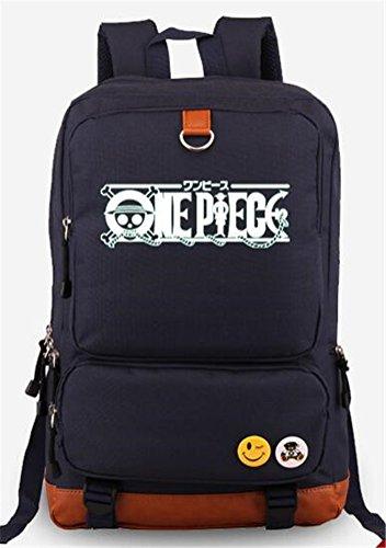 YOYOSHome One Piece Anime Luffy Chopper Cosplay Luminous Bookbag Rucksack Schultasche