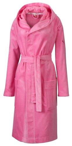 PUMA Damen Bademantel, Shocking pink, XS, 814075 06