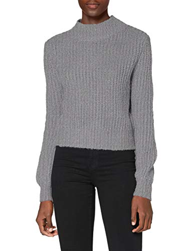 REPLAY Dk7057.000.g22648 Suéter pulóver, M04 Grey, M para Mujer