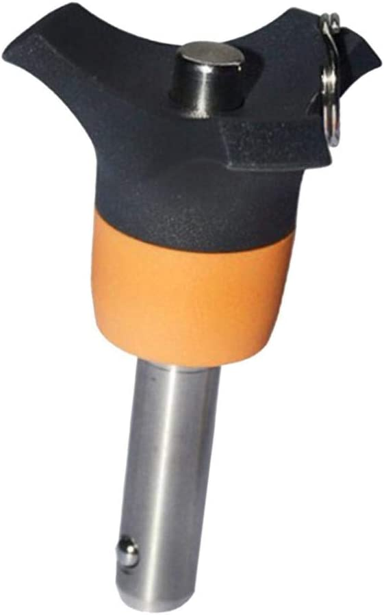 Klemml/änge Optional 10mm B Baosity Edelstahl Kugelsperrbolzen /Φ 6 mm Steckbolzen