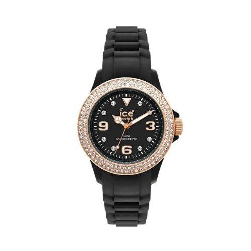 Ice-Watch Armbanduhr Stone-Sili Small Schwarz ST.BK.S.S.09