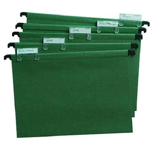 Cathedral A420 - Carpeta colgante (A4, 20 unidades), verde