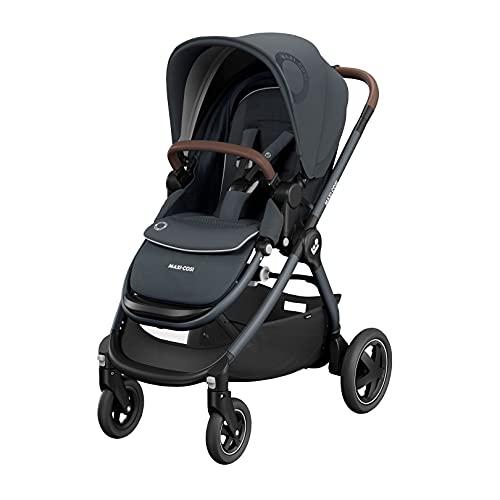 Maxi-Cosi Adorra² - Silla de paseo para bebé, sistema de viaje, desde el nacimiento hasta 4 años, 0-22 kg, grafito esencial