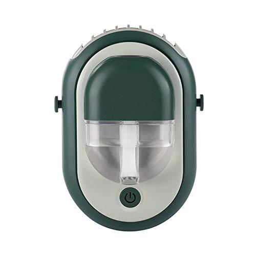 Clacce Ventilator Handventilator Sprühventilator Wasser-Sprüh Ventilator Sommer Heiß Abkühlung  Aromatherapie-Sprühventilator DREI-in-Eins-Akku-Großwind