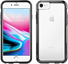 Pelican iPhone Case for 6,7,8, and SE, Adventurer Series - Military Grade Drop Tested, TPU, Polycarbonate Case for Apple iPhone 6,7,8, and SE (Clear/Black)