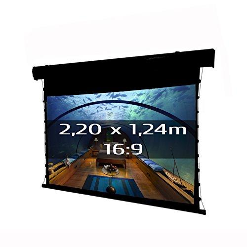 Kimex 049–3613Projektionsleinwand, elektrische TATENSO | Premium 2,20x 1,24m, Format 16: 9