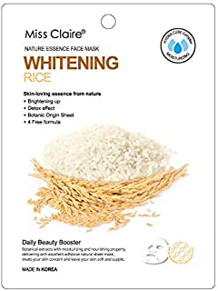 Miss Claire Miss Claire Face Mask Rice, White, 25 Milliliters, White, 25 ml