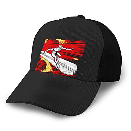 N/ Silver Surfer - Gorra de béisbol Ajustable (6 Unidades)