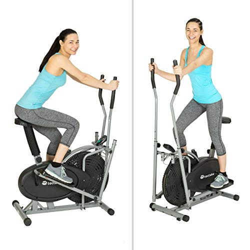 ADHW 2 IN 1 Heimtrainer Crosstrainer ERGOMETER ELLIPSENTRAINER Stepper Cardio Trainer
