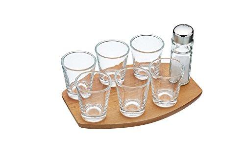 Barcraft Tequila shot glazen cadeauset (8 stuks)