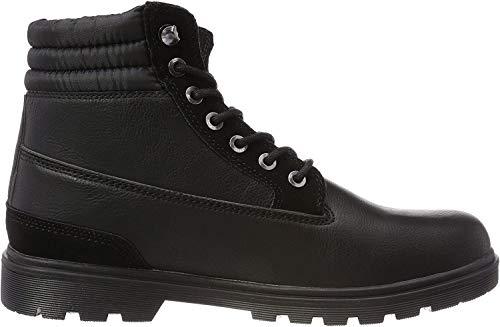 Urban Classics Herren Winter Chukka Boots, Schwarz (Black/Black), 39 EU