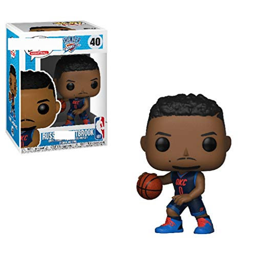 MMZ NBA: Oklahoma City Thunder - Russell Westbrook Sammler Vinyl Figur 10cm