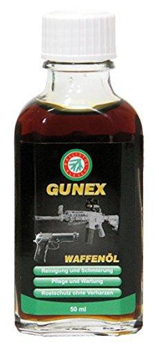 BALLISTOL GUNEX Olio per Armi - creato per soddisfare le elevate esigenze di sparatori militari e appassionati! Rimuove i residui di polvere, tombacco e fumo denso, come pure di oli inadatti e altre impurità. Mantiene la meccanica dell'arma scorrevol...