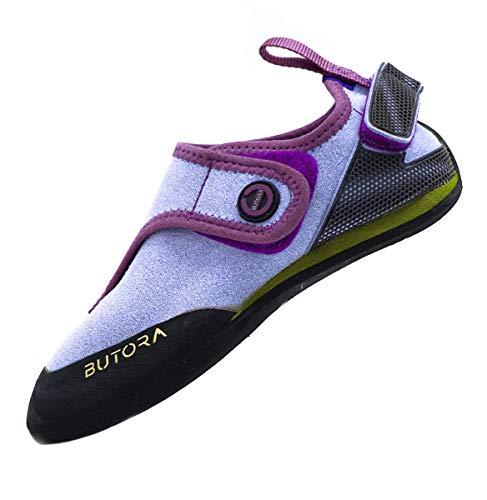 BUTORA Kids Brava Climbing Shoe, Violet, 11 Big Kid