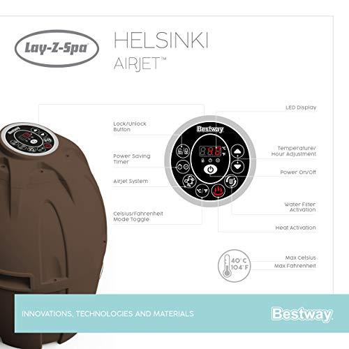 Bestway Lay-Z-Spa Helsinki AirJet - 39