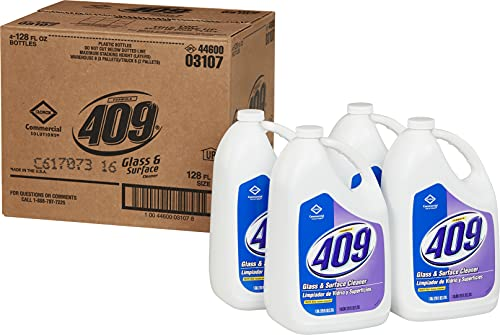 Clorox CLO 03107 Formula 409 128-Ounce Glass And Surface Cleaner Refill (Case of 4)
