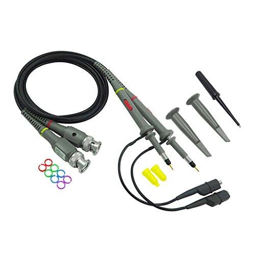 Sharplace BNC Oszilloskop-Tastkopf 100 MHz mit Zubehör, 1 Stück