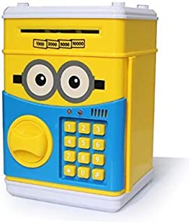 Creative Money Piggy Bank ATM Automatic Volume  Coin Money Box for Kids