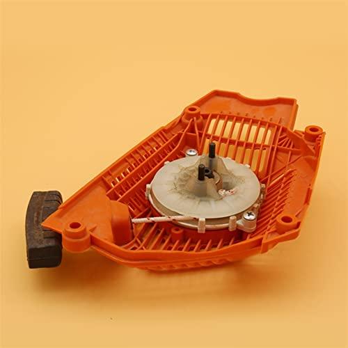HCO-YU Tire de Retroceso de Retroceso de Arranque de Arranque de Arranque Adecuado for Husqvarna 555 56 0xp 562xp Parte de la Herramienta de Repuesto de Motosierra de jardín