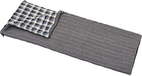 Berger Deckenschlafsack Camper Comfort Schlafsach Camping Decke Zelten Unterlage Isomatte grau