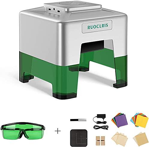 3 W, macchina per incisioni laser LLS 3000 m, mini taglierina laser portatile fai da te, stampante, incisione, lavoro 98 x 88 mm