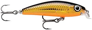 Rapala Ultra Light Minnow 06 Fishing lure, 2.5-Inch, Gold