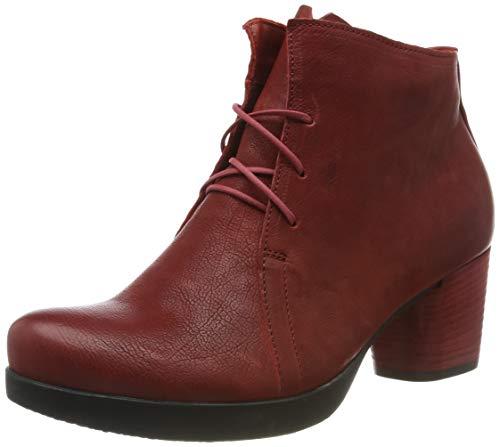 Think! Damen DRAWI_585230 Stiefeletten, Rot (Rosso 70), 38 EU