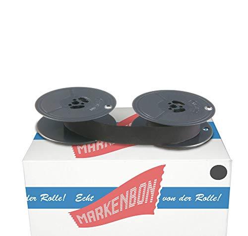 Farbbandspulen passend für DIN 32755 [schwarz] von markenbon DIN Farbband 001 - DIN Gruppe 1N (1 Karton mit 1 Stück)