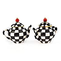 MacKenzie-Childs Teapot Salt & Pepper Set