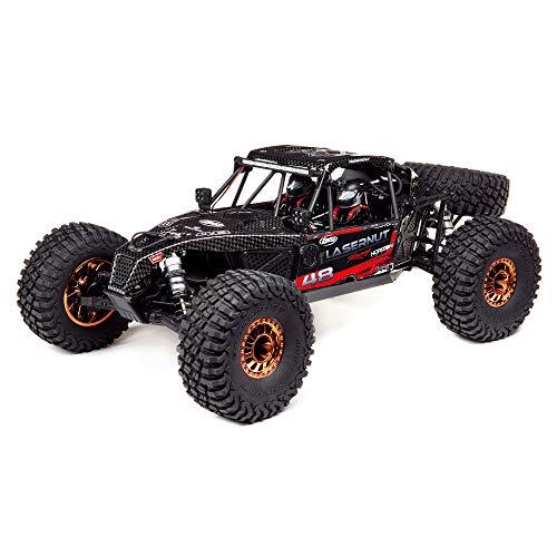 LOSI RC Buggy 1:10 Lasernut U4 Black, SMART ESC: 4WD RTR