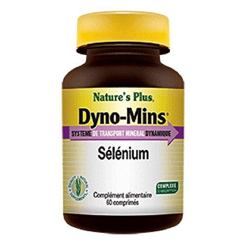 Nature s plus - Dyno mins sélénium - 60 comprimés - Contre le vieillissement des cellules