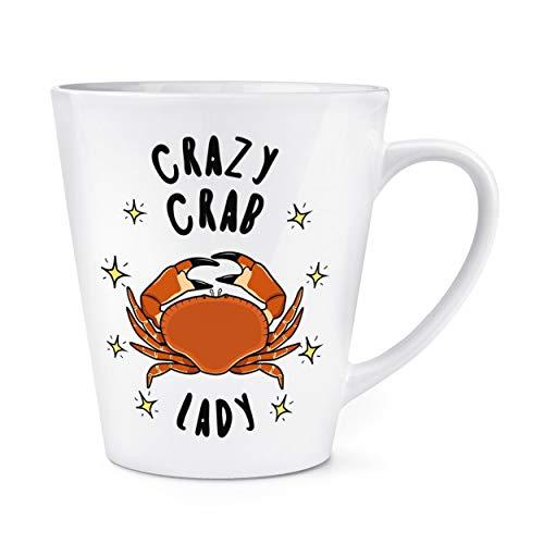 Crazy CRABE LADY étoiles 12oz Latte TASSE MUG