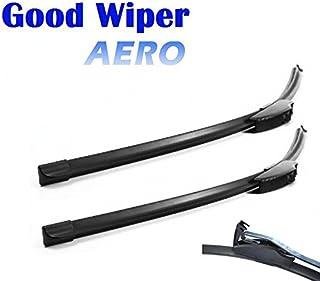530mm 450mm Good Wiper AERO 2x Front Scheibenwischer mit Hakenbefestigung Wischerblätter Set für Frontscheibe Scheibenwischerblätter Satz Premium Qualität. INION®