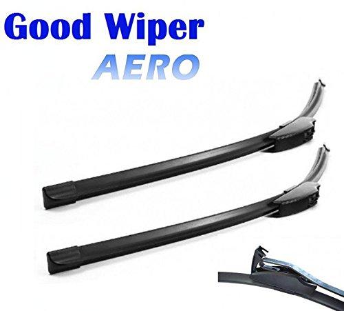 550mm 530mm Good Wiper AERO 2x Front Scheibenwischer mit Hakenbefestigung Wischerblätter Set für Frontscheibe Scheibenwischerblätter Satz Premium Qualität. INION®