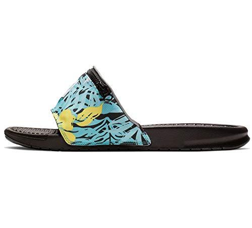 Nike Benassi JDI Fanny Pack Print Mens Slide Cj2967-300 Size 7 Turquesa